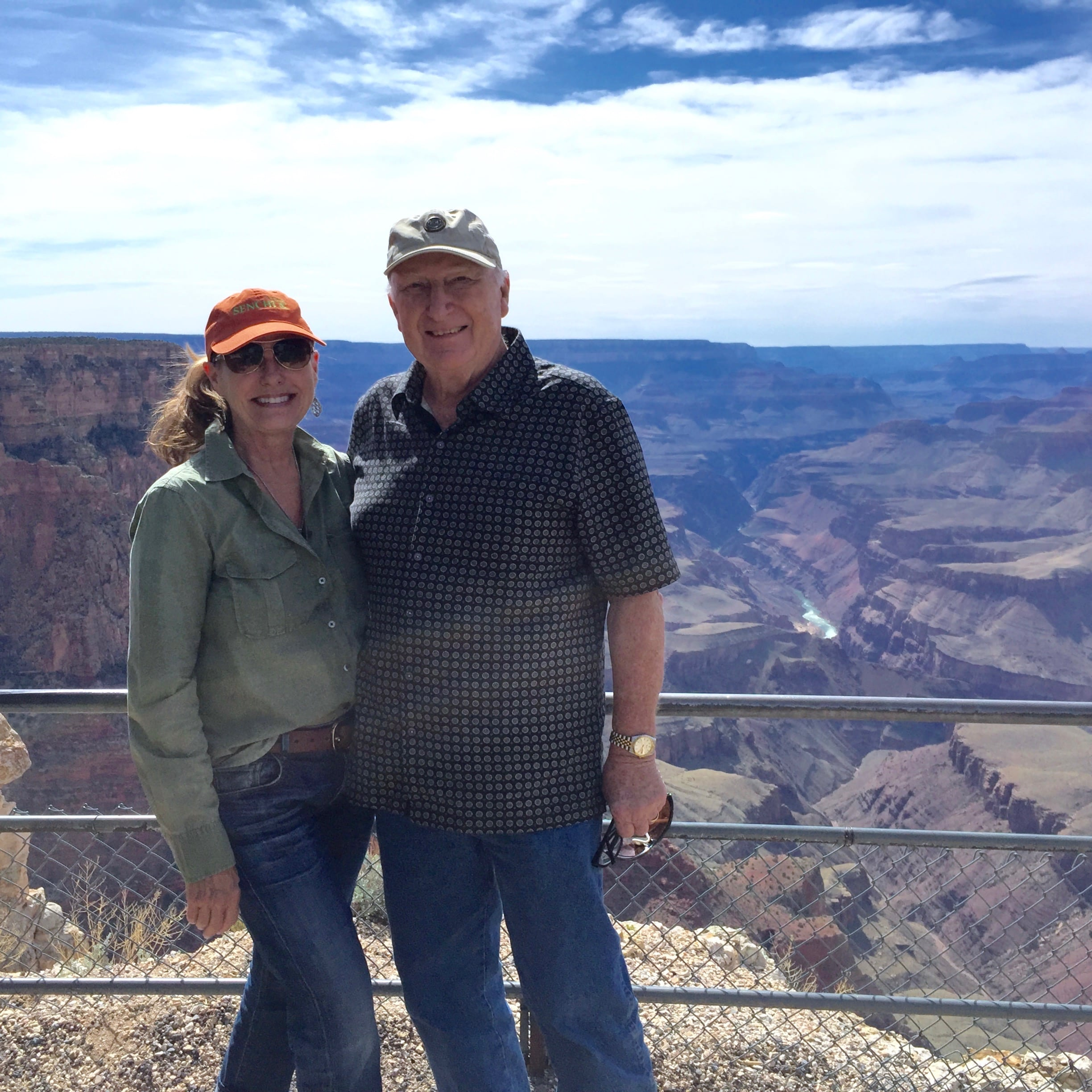 Married Couple at the Grand Canyon